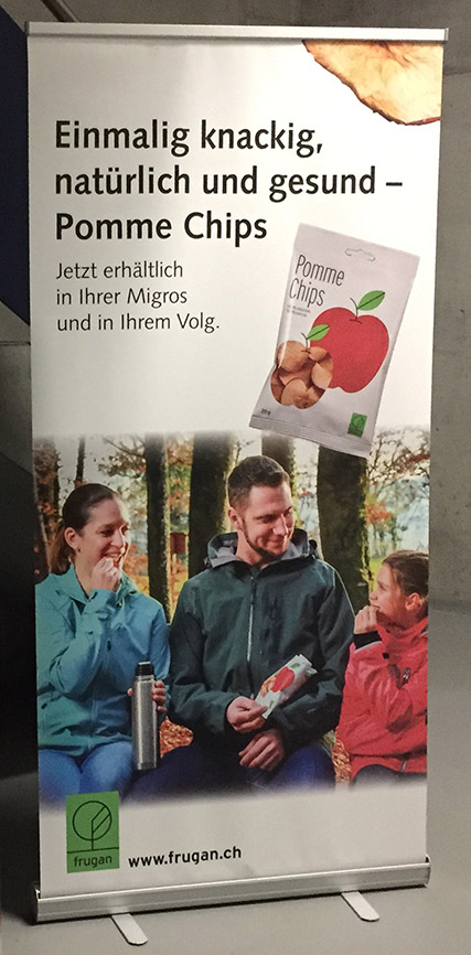 Roll-up agrofrucht