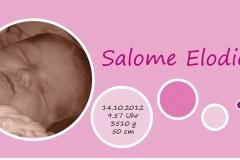 Geburtschärtli Salome
